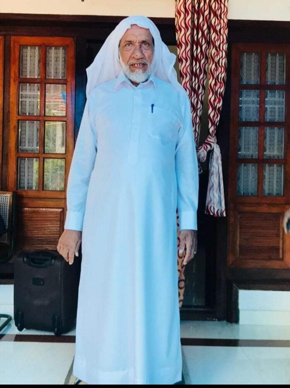നാദാപ്പുരം ഖാസി മേനക്കോത്ത് അഹമ്മദ് മുസ്ല്യാര് അന്തരിച്ചു